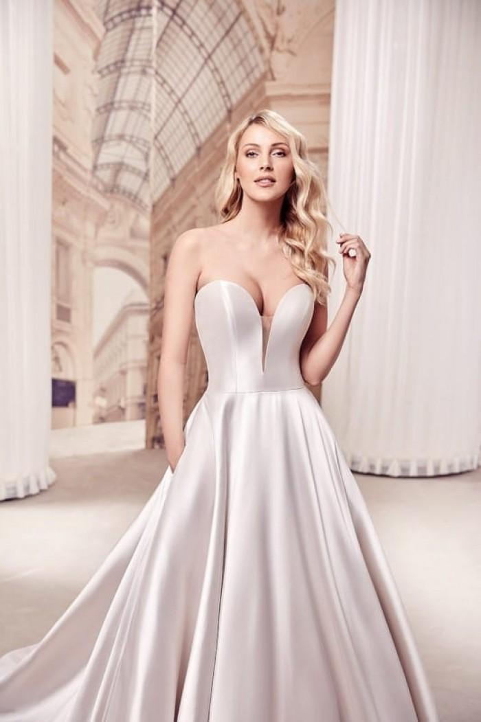 Sweetheart ball gown   Justin Alexander 88154   RK Bridal NYC